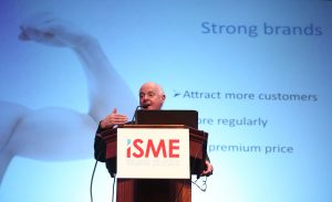 John Fanning at the ISME Annual Conference