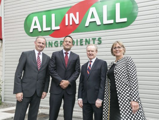 AllinAll Ingredients officially opens new state-of-the-art €5m facility in Dublin
