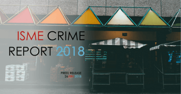 ONE-THIRD OF BUSINESSES IMPACTED BY CRIME