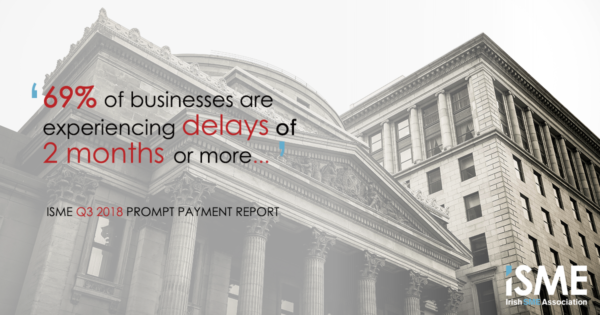 Increased payment delays for Ireland's SME sector