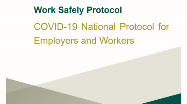 Update to the Work Safely Protocols