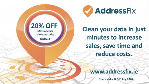 Geodirectory offers 20% off AddressFix Service to businesses who apply before 31st July 2020